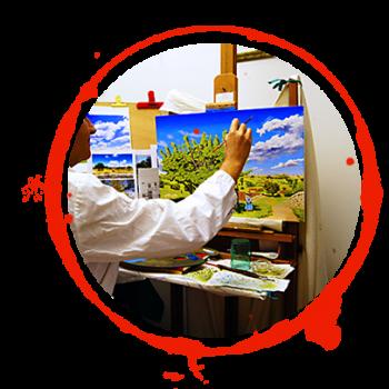 tondo-pittura
